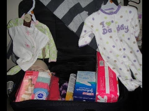 Hospital Bag for Labor and Delivery!