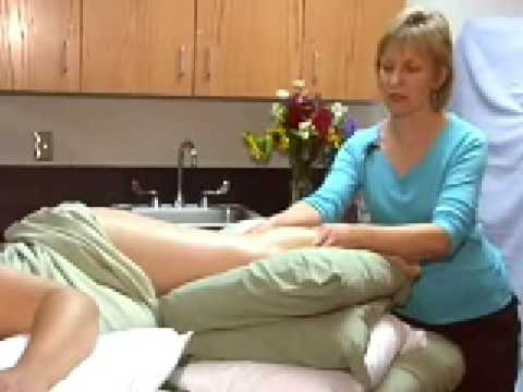 Pregnancy Massage Primer with Carole Osborne: working with a pregnant woman's legs